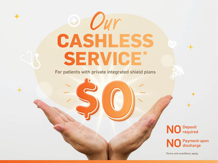 Cashless Service | Parkway East Hospital