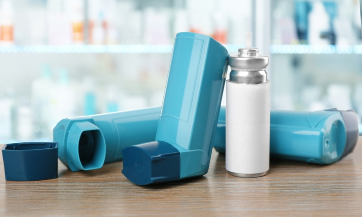 Asthma medication contains steroids