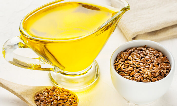 Fatty liver and flaxseed oil