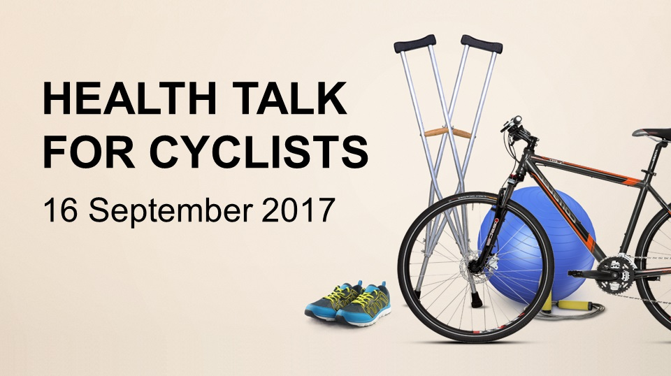 Health Talk For Cyclists
