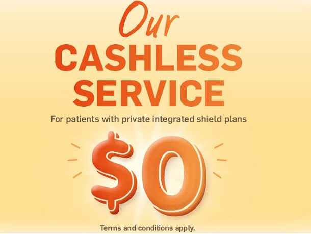 Parkway East Hospital Cashless Service