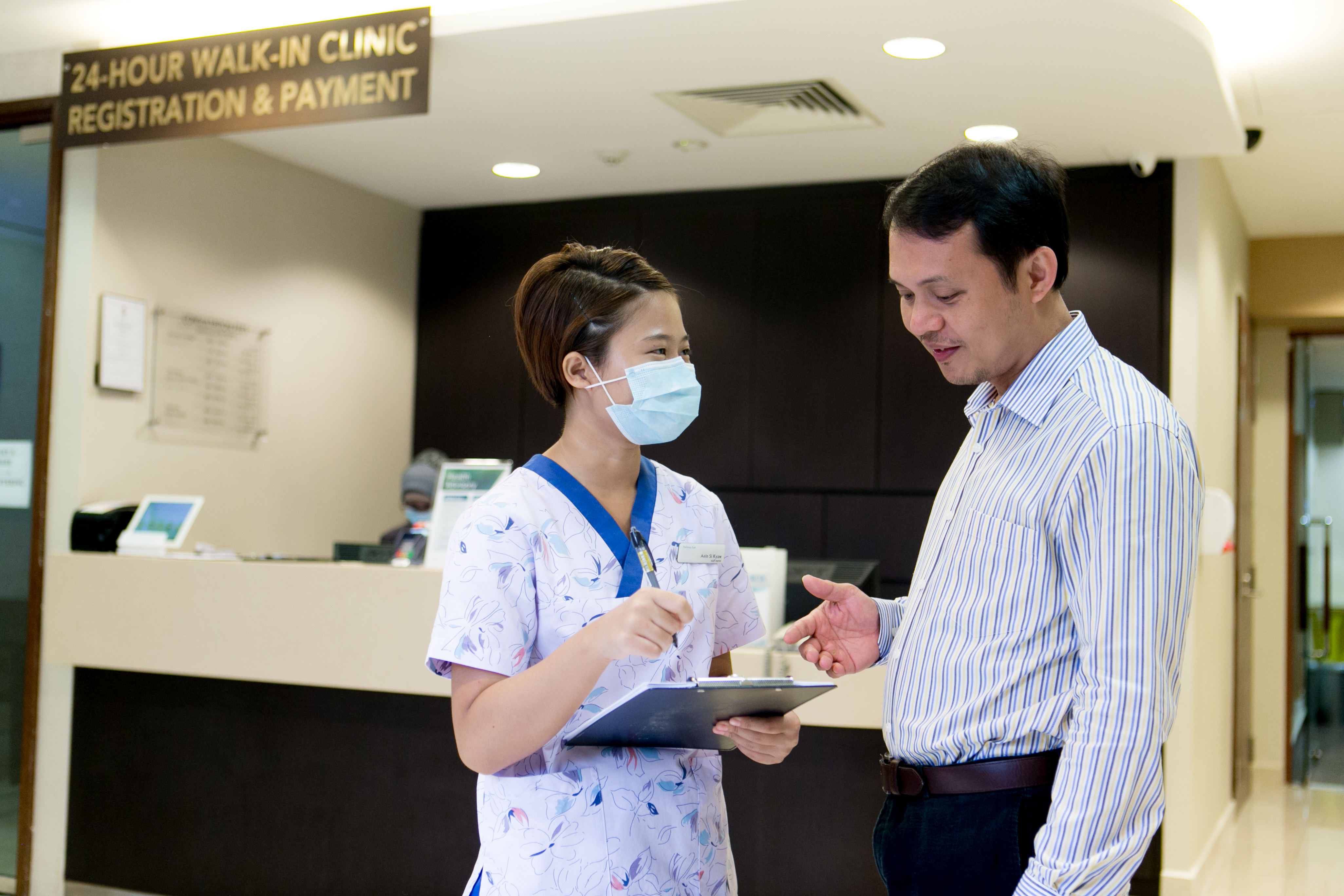 Accident and Emergency 24-hour clinic east of Singapore